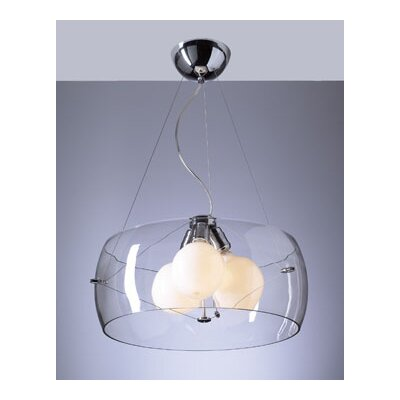 Lumisphere 3-Light Mini Drum Pendant