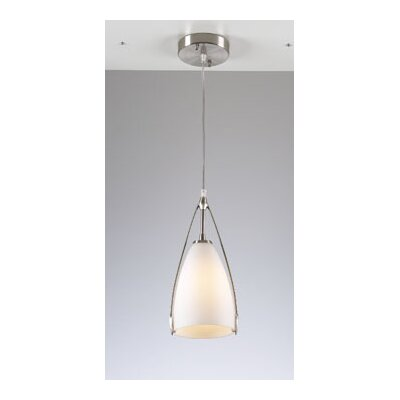 Amaretto 1 Light Mini Pendant Size: 6