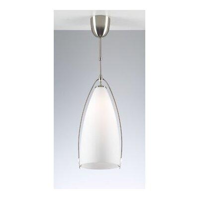 Amaretto 1 Light Mini Pendant Size: 9