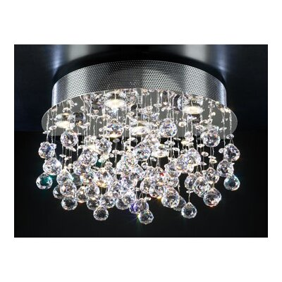 Beverly 7-Light Semi Flush Mount