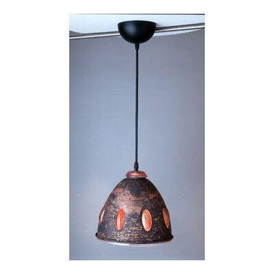 Fantasia-I 1-Light Pendant Shade Color: Peach