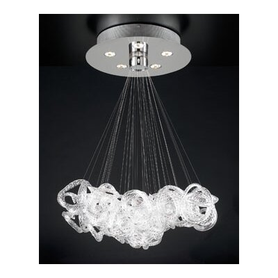 Elegance 5-Light Pendant Size: 28