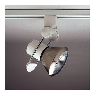 "1 Light Accessory Track Lighting Finish / Size: Mesh Satin Nickel / 1.75"" H x 3.75"" W"