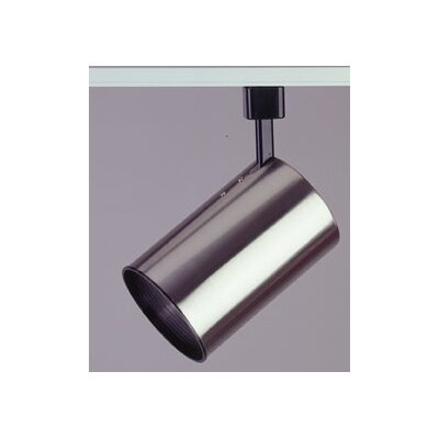 Cylinder 1-Light Track Head Finish: Satin Nickel
