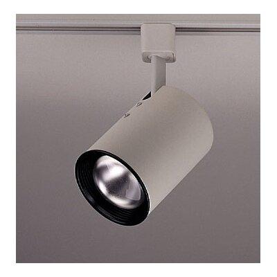 Cylinder 1-Light Track Head Finish: White