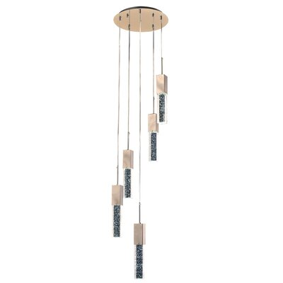 Aliseo 5-Light Cascade Pendant