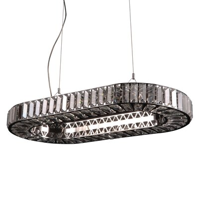 Marquee 12-Light Crystal Pendant