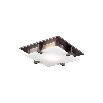 Polipo 1-Light LED Flush Mount Finish: Oil Rubbed Bronze