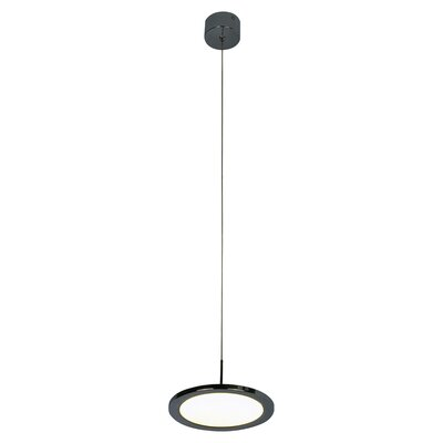 Disc 1-Light LED Mini Pendant