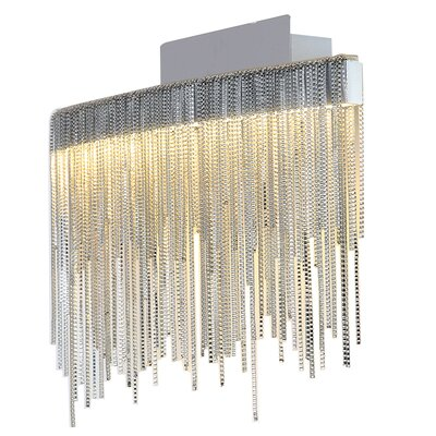 Davenport 1-Light LED Semi Flush Mount