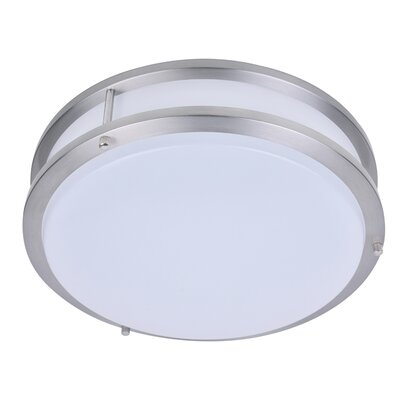 Kirk 1-Light LED Flush Mount