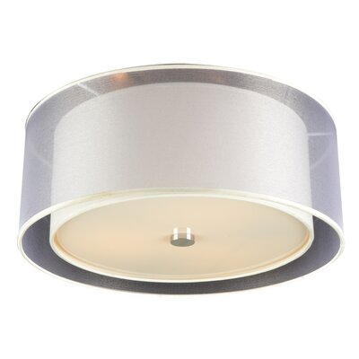 Daytona 3-Light LED Flush Mount