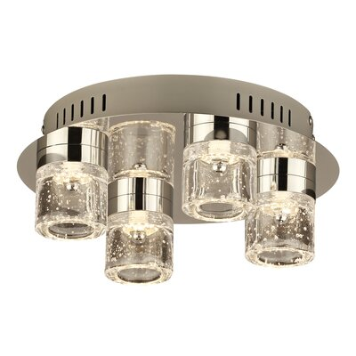 Yoki 4-Light LED Flush Mount