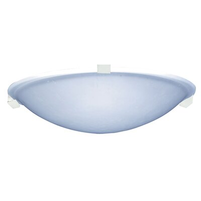 Nuova 1-Light LED Flush Mount Finish: White