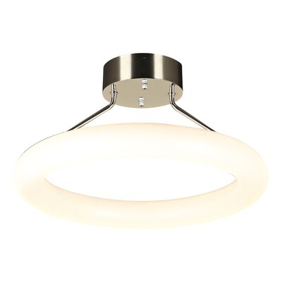 Anila 1-Light LED Semi Flush Mount