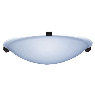 Nuova 1-Light LED Flush Mount Finish: Black