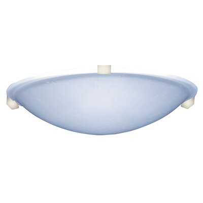Nuova 1-Light LED Flush Mount Finish: Polished Brass