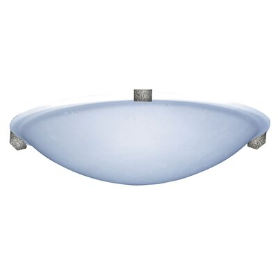 Nuova 1-Light LED Flush Mount Finish: Natural Iron