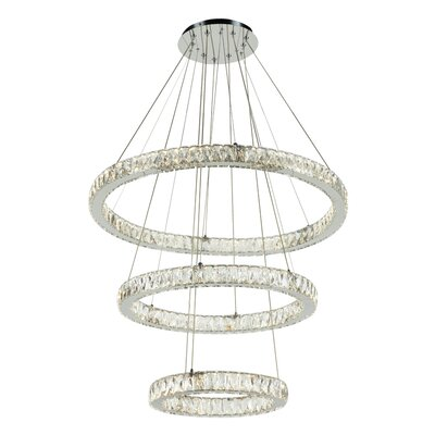 Equis 1-Light LED Geometric Pendant