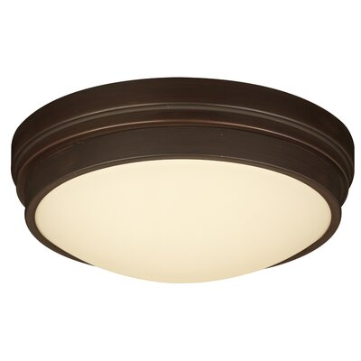 Turner 1-Light LED Flush Mount Finish: Bronze