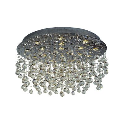 Beverly 18-Light Crystal Pendant
