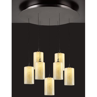 Cylindro 7-Light Mini Pendant