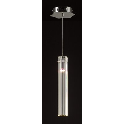 Segretto 1-Light Mini Pendant Size: 13.5 H x 2.5 W