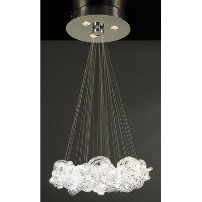 Elegance 3-Light Pendant Size: 22 W