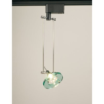 Antenna 1-Light Track Pendant Finish: Black