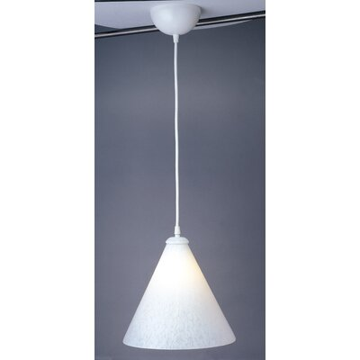 Rio 1-Light Mini Pendant Shade Color: White