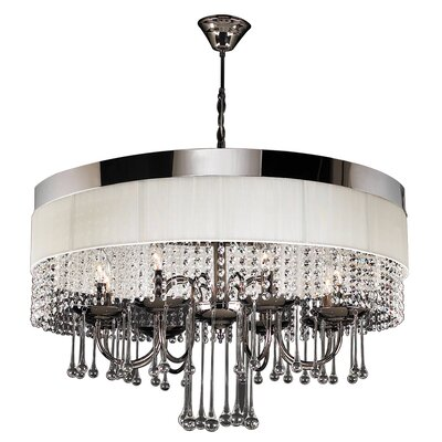 Elisa 8-Light Drum Chandelier