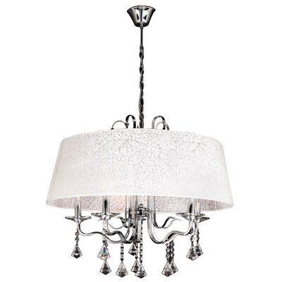Lily 5-Light Drum Chandelier