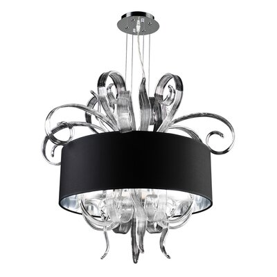 Valeriano 4-Light Drum Chandelier