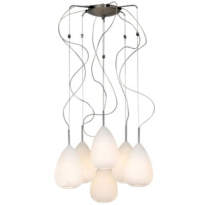 Mabel 6-Light Shaded Chandelier