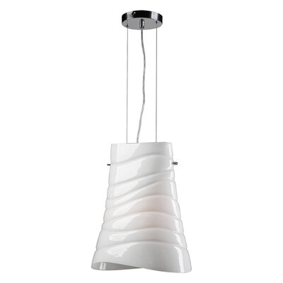 Mandy 1-Light Pendant Bulb Type: Incandescent