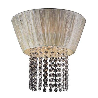 Angelina 1-Light Flush Mount Bulb Type: Incandescent