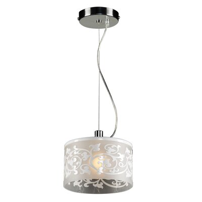 Tuxedo 1-Light Mini Pendant Color: White