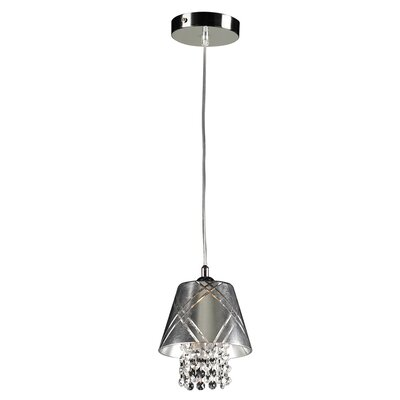 Nikko 1-Light Mini Pendant Color: Silver