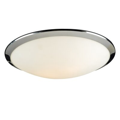Preston 2-Light Flush Mount Bulb Type: 60W A19