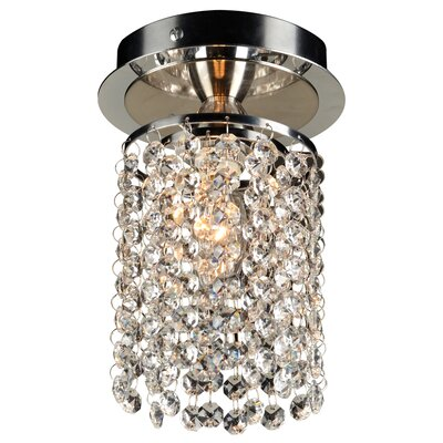 Komi 1-Light Semi-Flush Mount