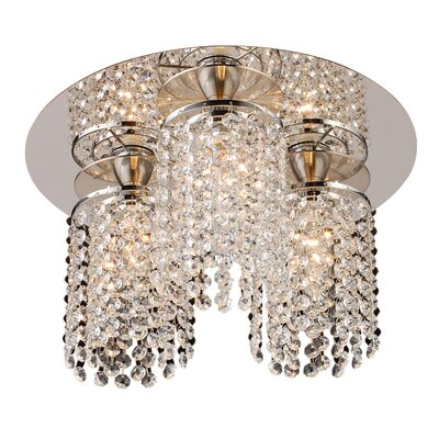 Komi 3-Light Semi-Flush Mount