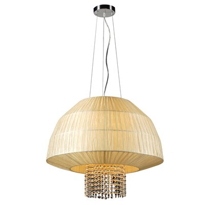 Tourou 3-Light Pendant Bulb Type: 60W A19