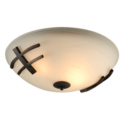 Antasia 2-Light Flush Mount