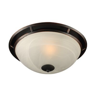 Compass 1-Light Flush Mount