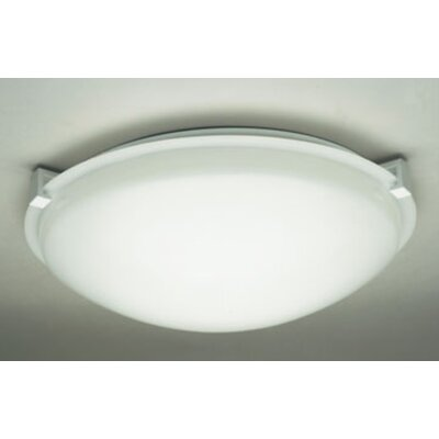 Nuova 1-Light Flush Mount Finish: White