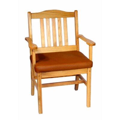 Low Price Bradley Brand Furniture Masterjack Arm Chair Finish: Red Mahogany