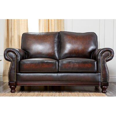 Reynolds Leather Loveseat