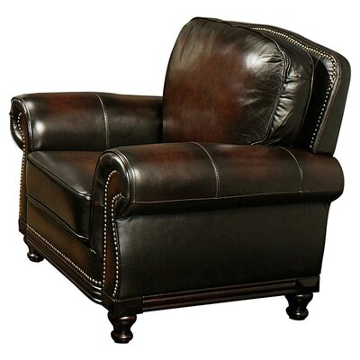 Barclay Hand Rubbed Leather Club Chair