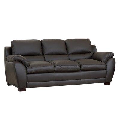 CI-1200-BRN-3 BYV3345 Abbyson Living Monarch Leather Sofa
