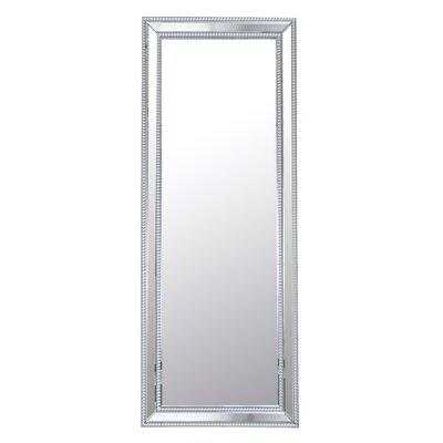 Imelda Rectangle Studded Leaning Floor Mirror